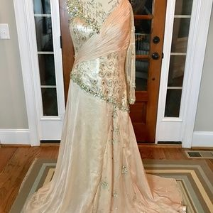 Custom Ritzee Original Evening Gown